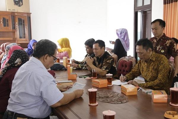 Kunjungan Pimpinan DPRD Kota Bekasi