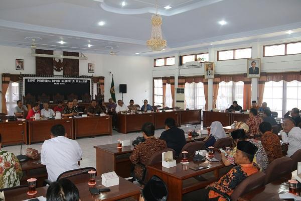Penerimaan kunker DPRD Kab Kendal, Kota Cimahi dan Kota Tangerang